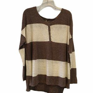Free People Beach Sweater Top Oversized